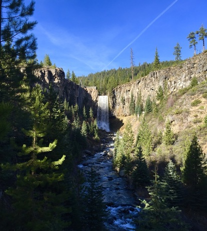 Bend Oregon Tumalo Falls